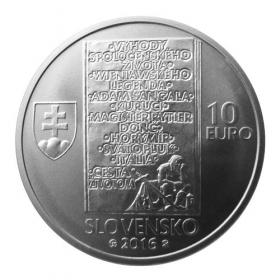 10 Euro / 2016 - Ladislav Nádaši-Jégé - Bežná kvalita