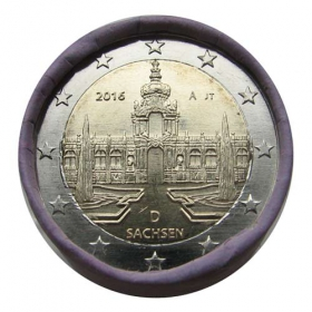 2 Euro / 2016 - Germany - Saxony: Dresdner Zwinger 'A'
