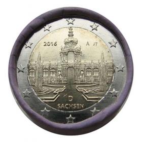 "2 Euro Nemecko ""A"" 2016 - Sasko: Palác Zwinger v Drážďanoch"