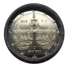 "2 Euro Nemecko ""G"" 2016 - Sasko: Palác Zwinger v Drážďanoch"