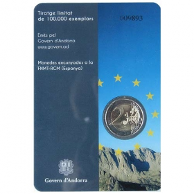2 Euro / 2014 - Andorra - Council of Europe
