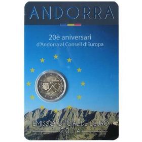 2 Euro / 2014 - Andorra - Rada EÚ