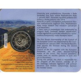 2 Euro Karta Slovensko 2016 - 1. predsedníctvo SR v EÚ
