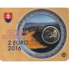 2 Euro Karta / 2016 - Slovensko - Predsedníctvo v EÚ