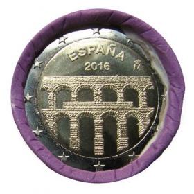 2 Euro Španielsko 2016 - Akvadukt v Segovii