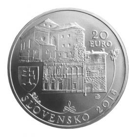 20 Euro / 2016 - Banská Bystrica - Bežná kvalita