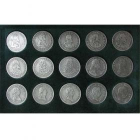 Strieborná sada mincí Habsburgovci - Patina
