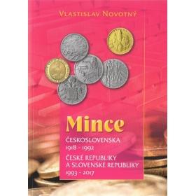 Mince Československa 1918-1992, ČR a SR 1993-2017