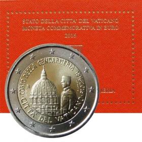 2 Euro / 2016 - Vatican - Vatican Police