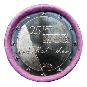 2 Euro Slovinsko 2016 - Výročie nezávislosti