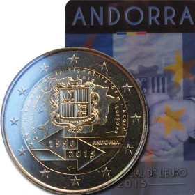 2 Euro / 2015 - Andorra - Customs Agreement