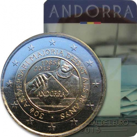 2 Euro Andorra 2015 - Volebné právo