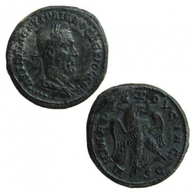 Ag Billon Tetradrachma / Rímske kolónie - Trajanus Decius