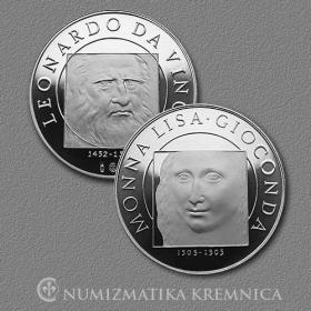 Medal Leonardo da Vinci - Proof