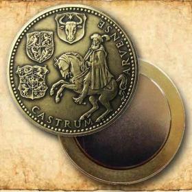 Medaila s magnetom - Juraj Turzo - Patina
