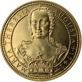 Medaila Mária Terézia (1-dukát)