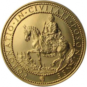 Zlatá medaila Mária Terézia (10-dukát)