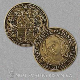 Medaila Košice - Patina