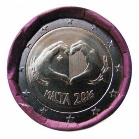 2 Euro / 2016 - Malta - Love