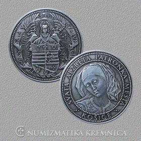 Medal Kosice - Patinated