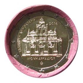 2 Euro Grécko 2016 - Kláštor Arkadi
