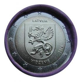 2 Euro Lotyšsko 2016 - Oblasť Vidzeme