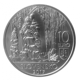 10 Euro / 2017 - Caves of Slovak Karst - Standard quality