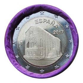 2 Euro Španielsko 2017 - Kostoly Astúrskeho kráľovstva