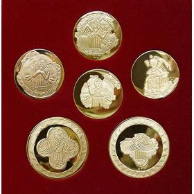 Nálezy z Bojnej na zlatých medailách