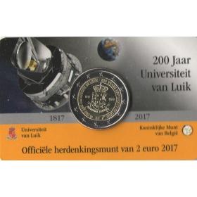 2 Euro / 2017 - Belgicko - Univerzita v Liège