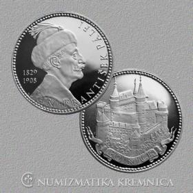 Strieborná medaila Bojnice - Proof