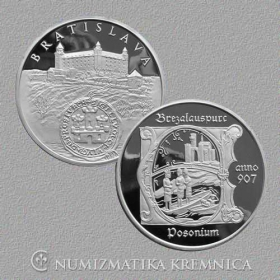 Medal Bratislava - Proof