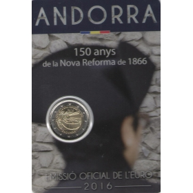 2 Euro / 2016 - Andorra - New Reform
