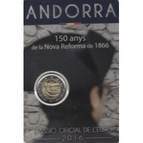 2 Euro Andorra 2016 - Nová reforma