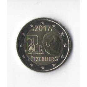 2 Euro Luxembursko 2017 - Dobrovoľná vojenská služba