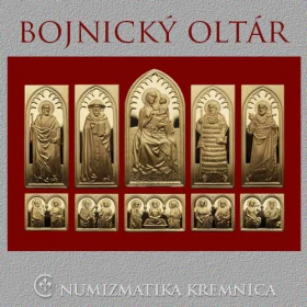 The Bojnice Altar on the silver plaques - gold plated
