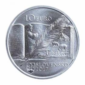 10 Euro / 2017 - Božena Slančíková Timrava - Bežná kvalita