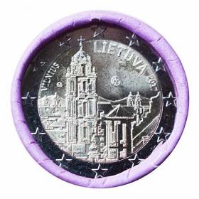 2 Euro Litva 2017 - Mesto Vilnius