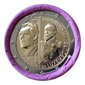 2 Euro Luxembursko 2017 - Guillaume III.