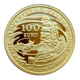 100 Eur Slovensko 2017 - Svetové prírodné dedičstvo - Jaskyne Slovenského krasu