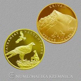Medaila Kriváň -  Lesk