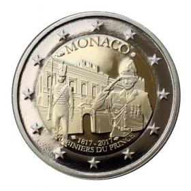 2 Euro / 2017 - Monaco - Carabiniers - Proof