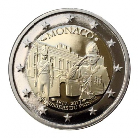 2 Euro / 2017 - Monako - Carabinieri - Proof
