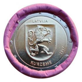2 Euro Lotyšsko 2017 - Oblasť Kurzeme
