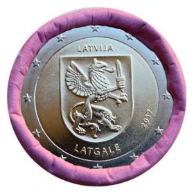 2 Euro Lotyšsko 2017 - Oblasť Latgale