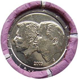 2 Euro / 2005 - Belgium - Economic union of Belgium and Luxembourg