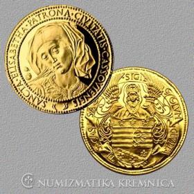 Zlatá medaila Sv. Alžbeta - patrónka mesta Košice (1-dukát)