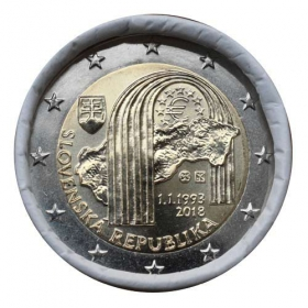 2 Euro Slovensko 2018 - 25 rokov Slovenskej republiky