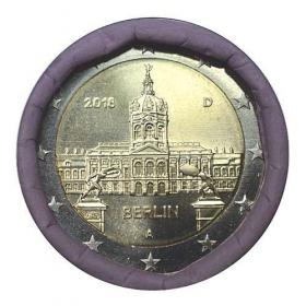 """2 Euro Nemecko """"A"""" 2018 - Berlín: Zámok Charlottenburg"""