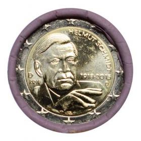 """2 Euro Nemecko """"D"""" 2018 - Kancelár Helmut Schmidt"""